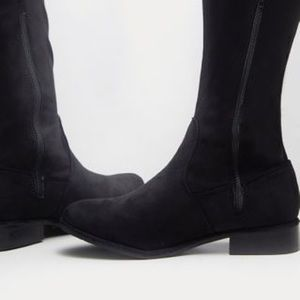 PrettyLittleThing Shoes - Black knee high boots